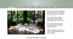 Blog Bernard Loiseau