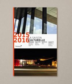 Couverture Saison culturelle 2015-2016 Ville de Palaiseau